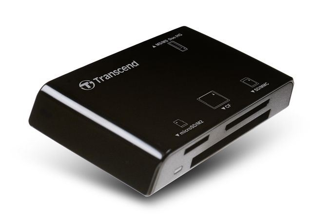 CARD READER TRANSCEND ALL IN 1(USB 2.0) TS-RDP8K - Čitači kartica