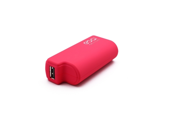 Back up baterija Ebai micro USB 2400mAh pink - Backup za baterije